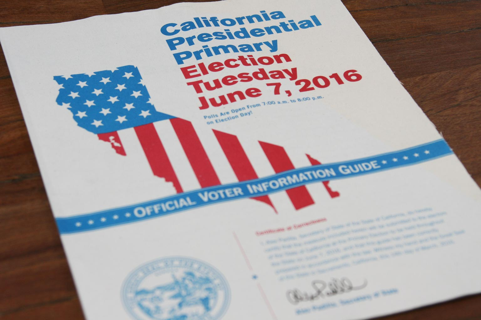 california-presidential-primary-election
